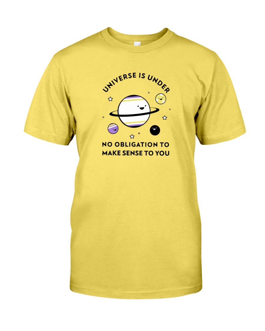 The universe and its meaning Premium Fit Mens Tee