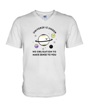 The universe and its meaning V-Neck T-Shirt thumbnail