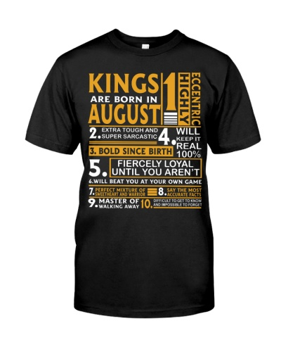 Kings are born in August - 10