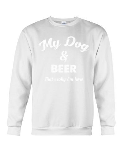 MY DOG AND BEER