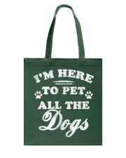 Limited-Edition-To-Pet-All-The-Dogs Tote Bag thumbnail