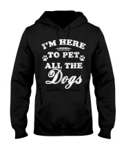 Limited-Edition-To-Pet-All-The-Dogs Hooded Sweatshirt thumbnail
