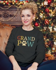 Grand Paw Crewneck Sweatshirt lifestyle-holiday-sweater-front-2