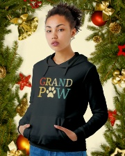 Grand Paw Hooded Sweatshirt lifestyle-holiday-hoodie-front-4