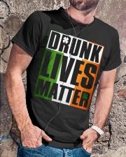 LUCKY SAINT PATRICKS DAY FUNNY TSHIRT Classic T-Shirt lifestyle-mens-crewneck-front-4
