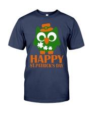Happy Saint Patrick's day owl shamrock Tee Premium Fit Mens Tee thumbnail
