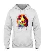 Guinea Pig Vertical Poster Hooded Sweatshirt thumbnail