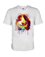 Guinea Pig Vertical Poster V-Neck T-Shirt thumbnail
