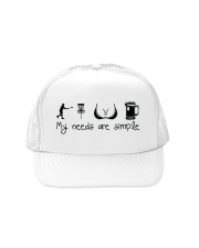 my needs are simple Trucker Hat thumbnail