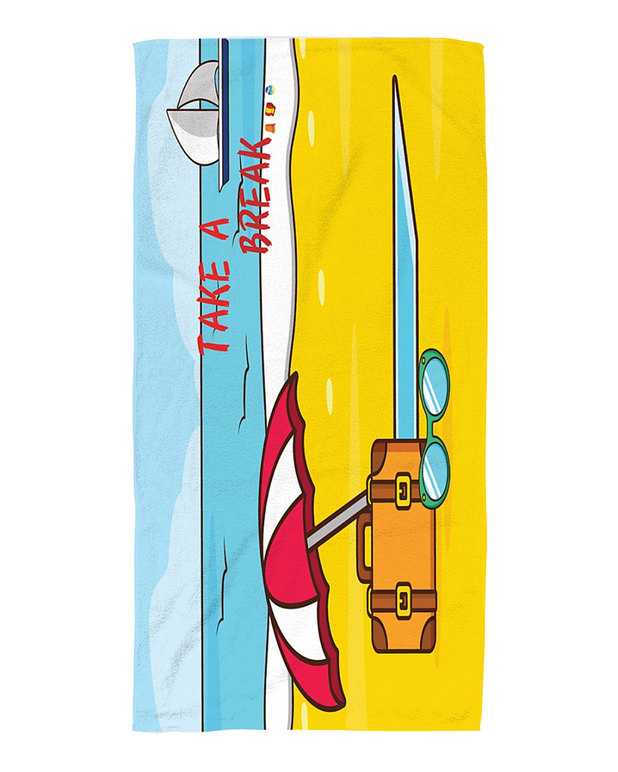 Take-a-break  Beach Towel