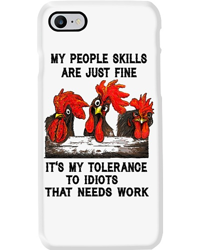 my people skills are just fine