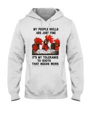 my people skills are just fine Hooded Sweatshirt thumbnail