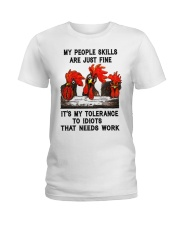 my people skills are just fine Ladies T-Shirt thumbnail