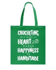 Crocheting Lover Shirt Tote Bag thumbnail