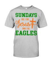 Sundays are for Jesus and the Eagles Classic T-Shirt thumbnail