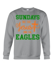 Sundays are for Jesus and the Eagles Crewneck Sweatshirt thumbnail