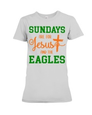 Sundays are for Jesus and the Eagles Premium Fit Ladies Tee thumbnail