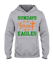 Sundays are for Jesus and the Eagles Hooded Sweatshirt thumbnail