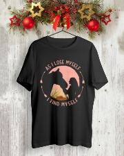 HORSE Classic T-Shirt lifestyle-holiday-crewneck-front-2