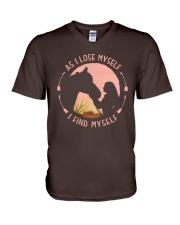 HORSE V-Neck T-Shirt thumbnail