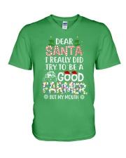 FARMER V-Neck T-Shirt thumbnail