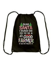FARMER Drawstring Bag front