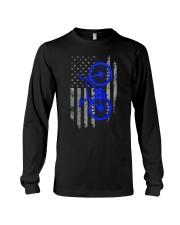 Cycling USA Flag Long Sleeve Tee thumbnail