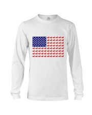 AMERICAN FLAG - DACHSHUND  Long Sleeve Tee tile
