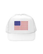 AMERICAN FLAG - DACHSHUND  Trucker Hat thumbnail