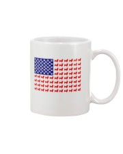 AMERICAN FLAG - DACHSHUND  Mug thumbnail