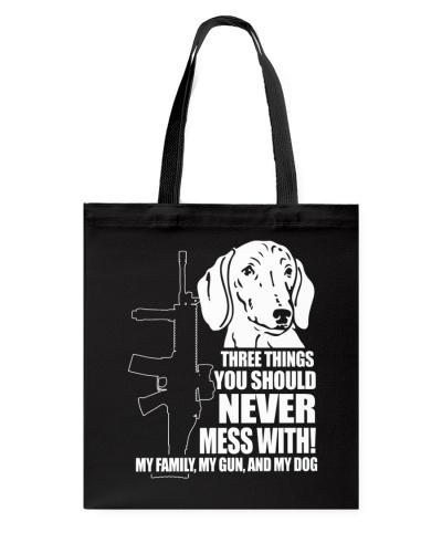 Tshirts - MY FAMILY - MY GUN AND MY DOG
