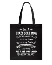 CRAZY DOXIE MOM Tote Bag thumbnail