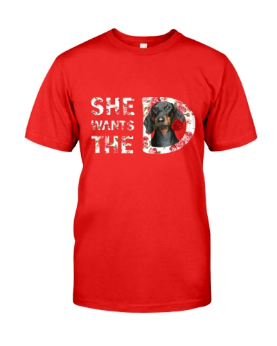 LIMITED EDITION- SHE WANT THE D