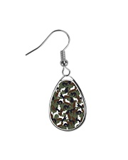 Camo cats - JY Teardrop Earrings thumbnail