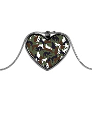 Camo cats - JY Metallic Heart Necklace thumbnail