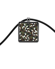 Camo cats - JY Cord Rectangle Necklace thumbnail