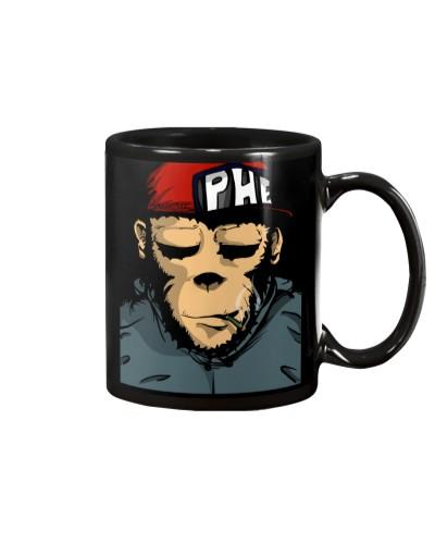 Drink to high: Smokeweed Monkey Mugs
