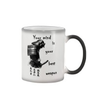 Your mind is your best weapon Color Changing Mug thumbnail