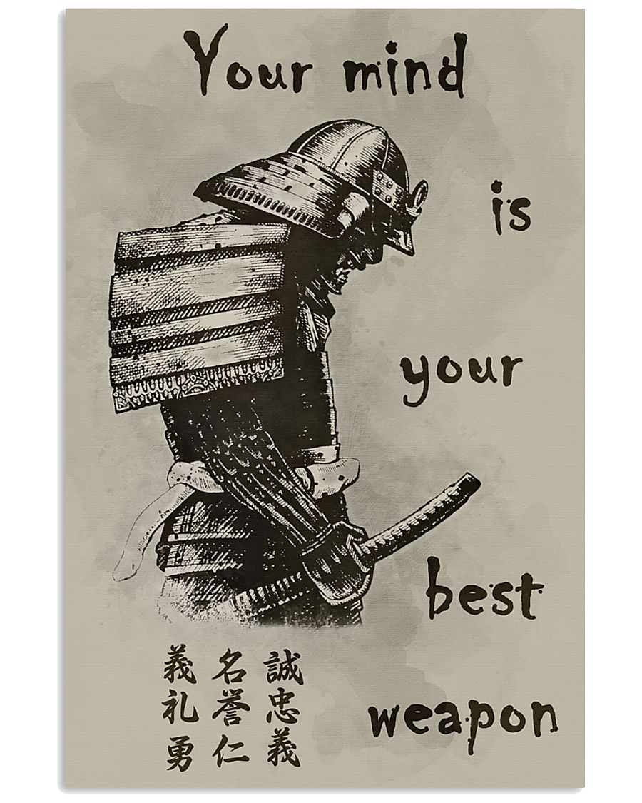 Your mind is your best weapon 11x17 Poster