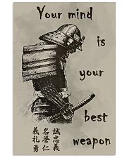 Your mind is your best weapon 11x17 Poster front