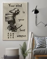 Your mind is your best weapon 11x17 Poster lifestyle-poster-1