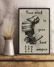 Your mind is your best weapon 11x17 Poster lifestyle-poster-3