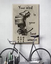 Your mind is your best weapon 11x17 Poster lifestyle-poster-7