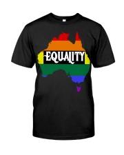 LGBT Pride 2020 Funny Australia Gay Rainbow Gifts Classic T-Shirt thumbnail
