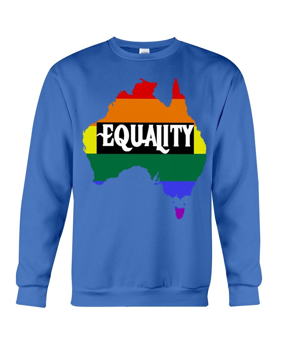 LGBT Pride 2020 Funny Australia Gay Rainbow Gifts Crewneck Sweatshirt