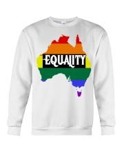 LGBT Pride 2020 Funny Australia Gay Rainbow Gifts Crewneck Sweatshirt thumbnail