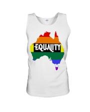LGBT Pride 2020 Funny Australia Gay Rainbow Gifts Unisex Tank thumbnail
