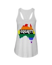 LGBT Pride 2020 Funny Australia Gay Rainbow Gifts Ladies Flowy Tank thumbnail