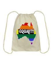 LGBT Pride 2020 Funny Australia Gay Rainbow Gifts Drawstring Bag thumbnail