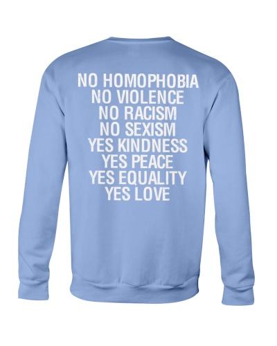 Funny Sayings LGBT - No Homophobia Violence Racism